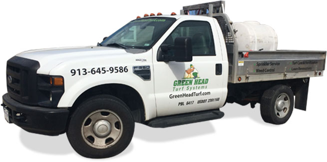 Green Head Turf Systems Service Truck